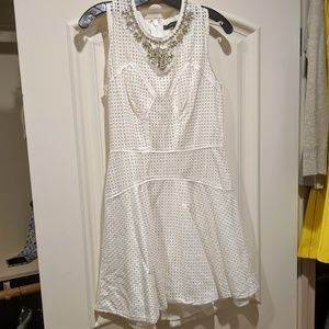 BCBG Maxazria White Dress